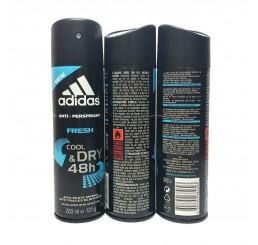 Adidas Body Spray 200ml men, Cool & Dry Fresh