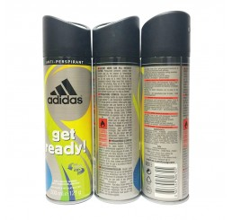 Adidas Body Spray 200ml men, Cool & Dry Get Ready
