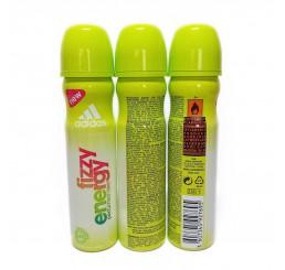 Adidas Body Spray 75ml woman, Fizzy Energy