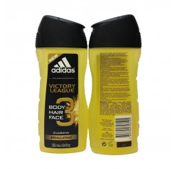 Adidas Shower Gel 250ml men, 3in1 Hair & Body & Face Victory League