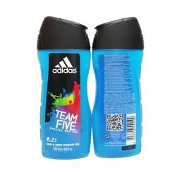 Adidas Shower Gel 250ml men, Team Five