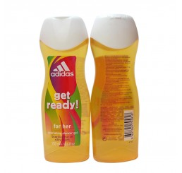 Adidas Shower Gel 250ml woman, Get Ready