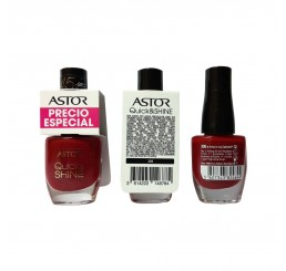 Astor Nail Polish 8ml woman, Quick'N Shine 305 Drive in my Cabriolet