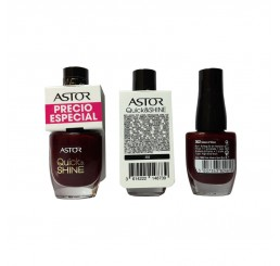 Astor Nail Polish 8ml woman, Quick'N Shine 302 Glass of Wine