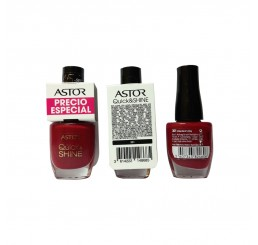 Astor Nail Polish 8ml woman, Quick'N Shine 301 Valentine's Day