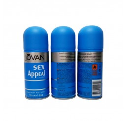 Jovan Body Spray 150ml men, Sex Appeal