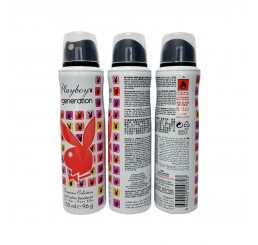 Playboy Body Spray 150ml woman, Generation